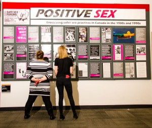 Positive Sex Exhibit, MacOdrum Library