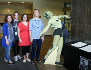 Archives of Ontario staff with Jackie MacDonald at Doors Open Toronto 2015