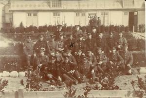 Alldritt 1 - 1918 Holland internment YMCA hut