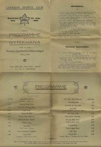 Alldritt 6 -Gymkhana programme