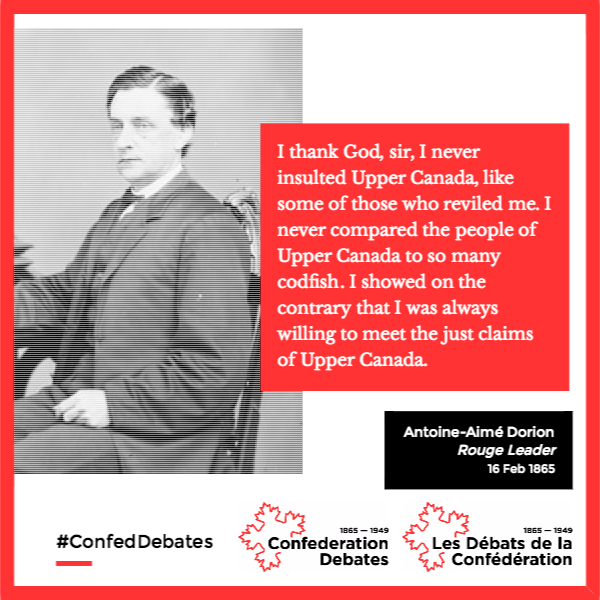 "The Confederation Debates posted its first ""Quote of the Day"" to social media on 1 July 2016. We will continue posting content from all stakeholders in both official languages for the next year. Anyone can log onto our website, transcribe a page, and flag some text for these posts."
