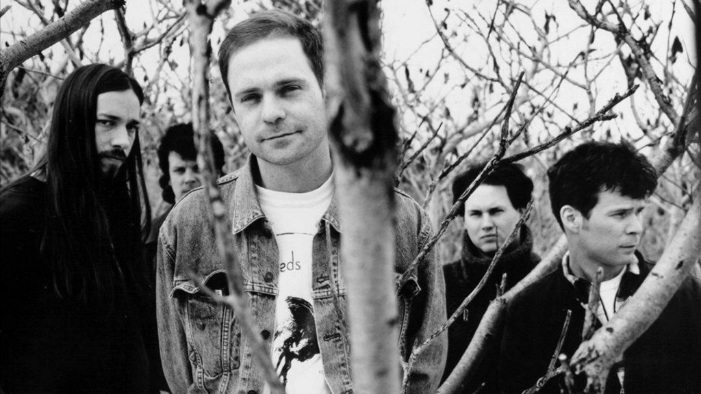 The Tragically Hip, Gord Downie centre, 1994. Credit unknown