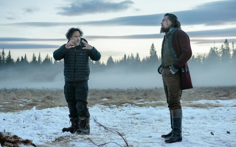 The director (left) and star of the Revenant. Telegraph.co.uk.
