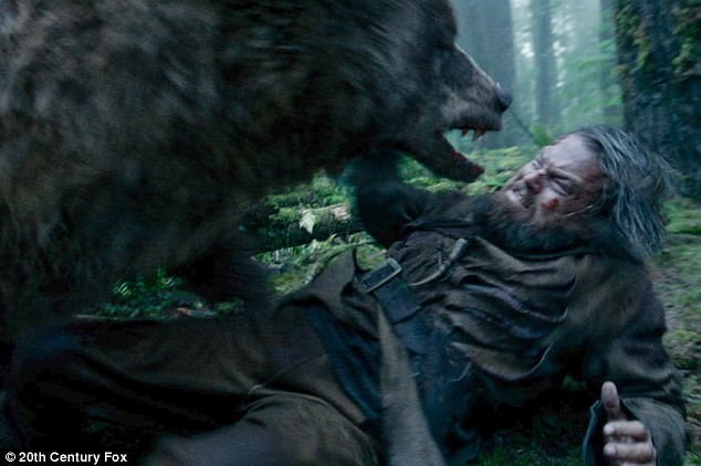 Still from The Revenant, 2015.