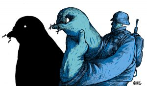 """Ares. """"El Proceso de Paz. Secuestrado por el Miedo? La Pluma.net. May 24, 2014."""