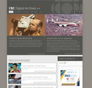 All of the images in this post are screnncaptures used with permission from the CBC.