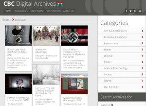 CBC digital archive