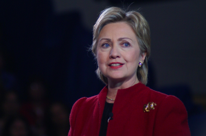 Clinton in Hampton, NH, by Marc Nozell, CC License Attribution Generic
