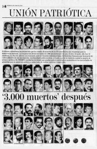 """.""""Unión Patriótica."""" El Tiempo, June 5, 2005"""