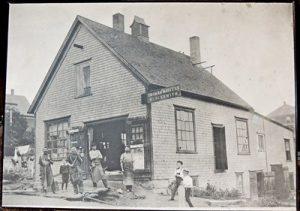 Walters Blacksmith Shop, Lunenburg, NS.