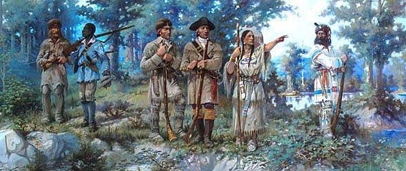 Sacagawea at the Three Forks. sacagawea-biography.org