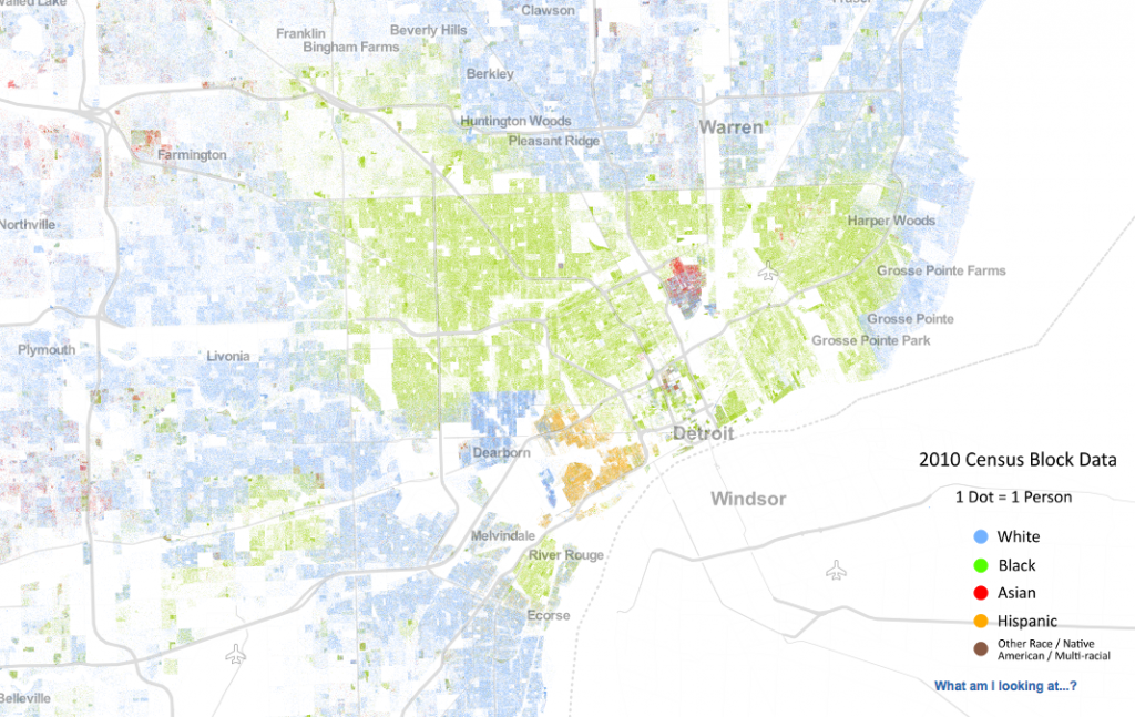 Map the History of Redlining, It Works – Active History Census Dot Map on