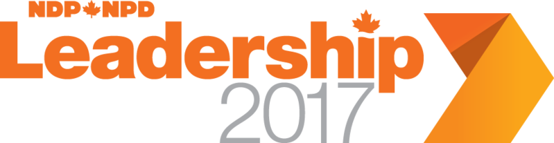 NDP Leadership Race Logo