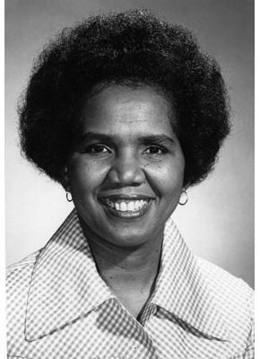 Headshot of Rosemary Brown.