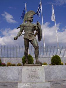 Sparta Leonidas Monument