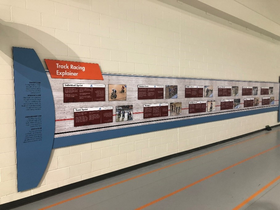 Exhibition panels at MNCC