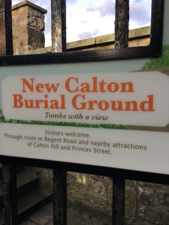 Calton Burial Gound Gate