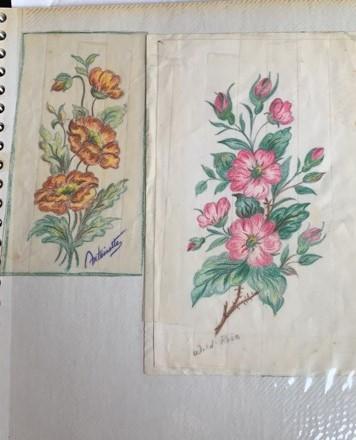 Floral stencils