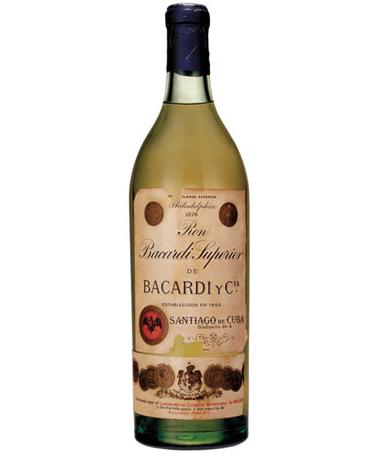 bottle of rum