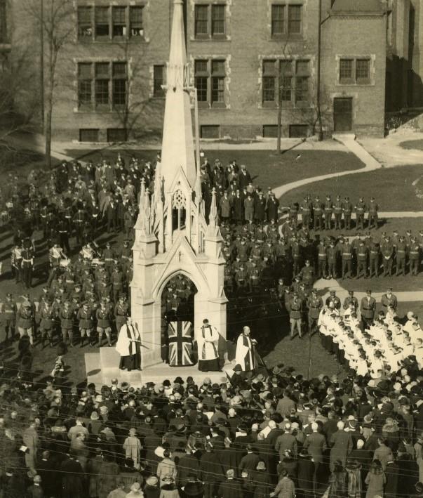 St James Anglican Memorial Cross