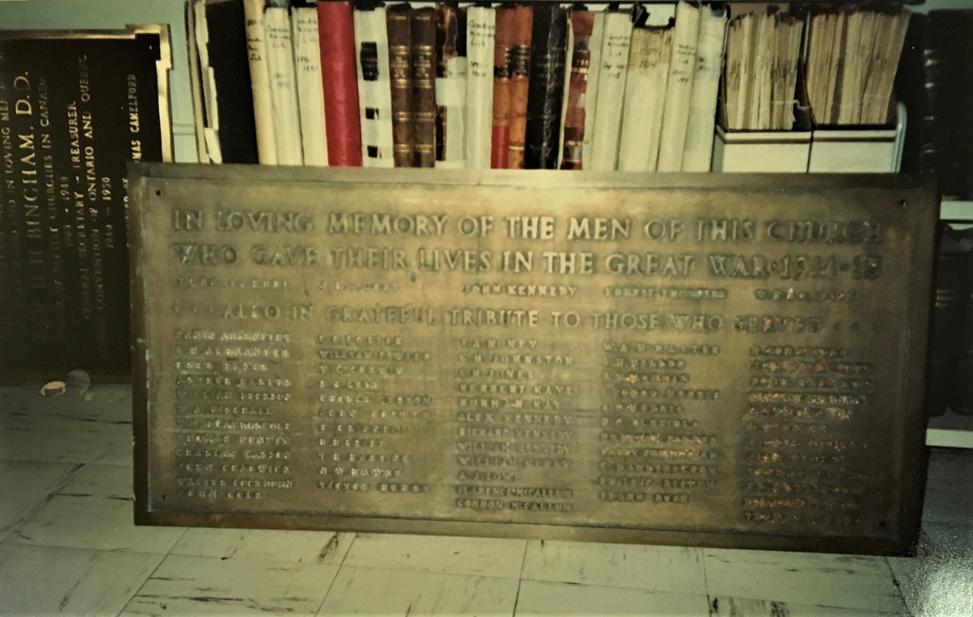 Tablet memorial
